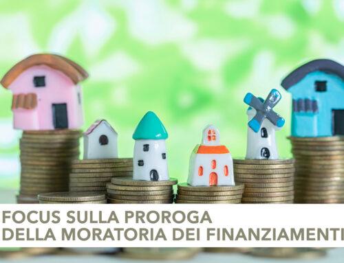 Focus sulla proroga della moratoria dei finanziamenti