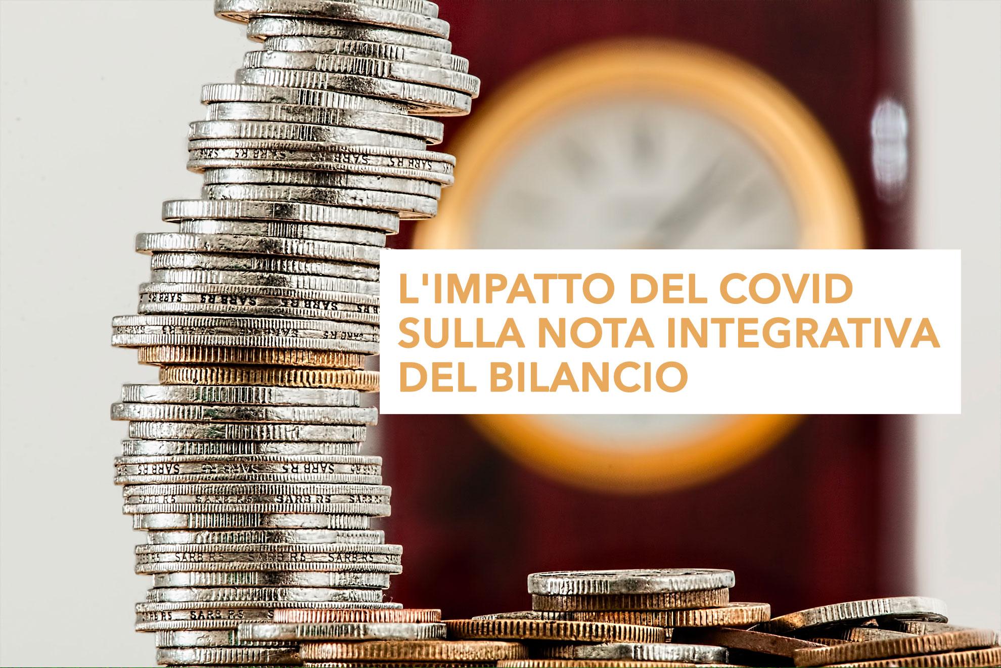 L'impatto del Covid sulla nota integrativa del bilancio