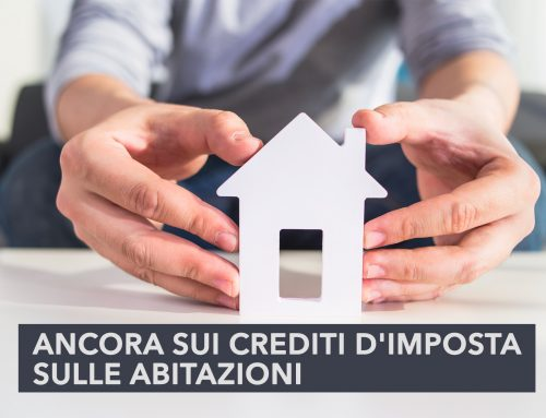 Ancora sul credito d'imposta sulle abitazioni